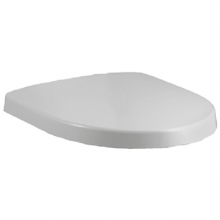 Kohler Panache Soft Close Stainless Steel Hinged Toilet Seat - 17674T-0